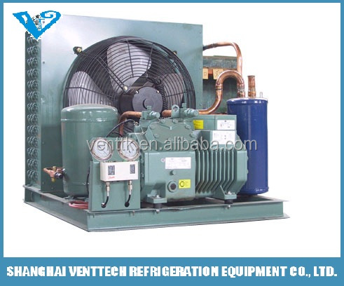 5HP cold storage cold room cooling system refrigeration Bitzer condensing unit