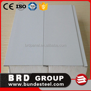 polyurethane color steel sheet sandwich panels