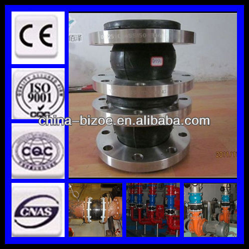 competitive price/ansi/oil resistant/iso certificate/factory supply single sphere rubber expansion joints