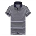 high quality plain different color of collar t-shirt uniform polo shirt design with combination