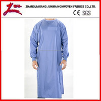 Laboratory isolation disposable hospital surgical ppe gown