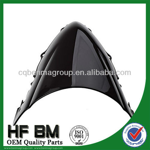 black Carbon fiber windshield for motorcycle parts ,high quality and best price,With high efficiency