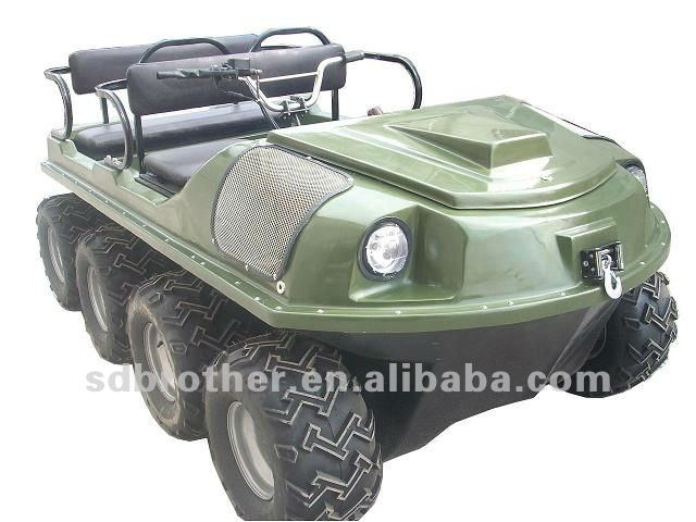 8x8 Amphibious electric atv