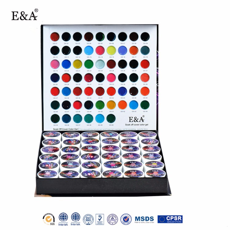 EA full manicure 36 colors cover color gel nail kit color uv gel set