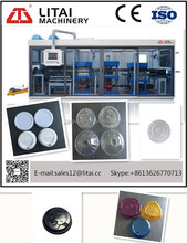 Automatic Plastic Cup Lid Making and Paper Cup Cover Forming Machine