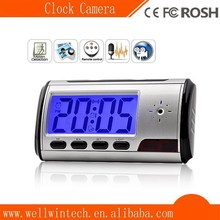 best price! Digital table Mirror desk Hidden Clock Camera