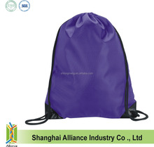 2015 New style China factory suppler promotional cheap fashion nylon shopping bag nylon drawstring back bag