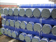 Q235 straight round galvanized steel seamless pipe / weight ms mild galvanized construction pipe / galvanized pipe