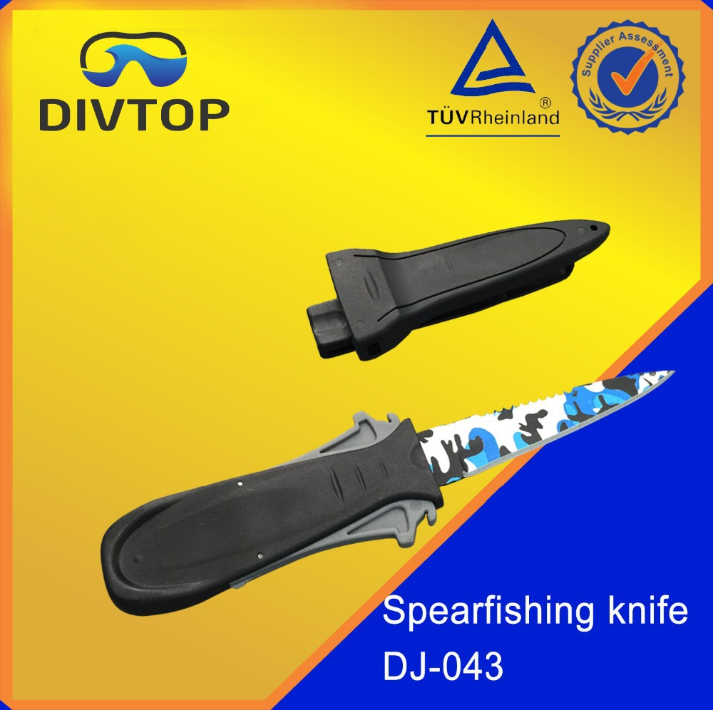 420 stainless steel dive and fishing knife
