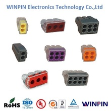Wago 773 series terminal blocks push wire connector,quick connector for for juntion boxes