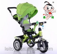 4 in 1 children tricycle bike for sale with turning seat and preferential price
