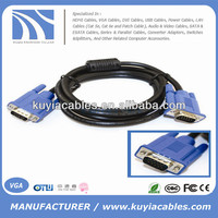 Hot Sale HDMI 3+4 3+5 vga cable specification male to male monitor vga 10ft 16ft