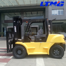 LTMA four wheel drive forklifts 8 ton diesel forklift truck prices