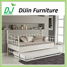 UK Style 3ft Single Metal day bed frame/Metal sofa bed