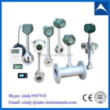 natural gas flow meter/vortex flowmeter china with high low price