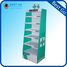 Point of Purchase POP Counter Corrugated Display with Pockets
