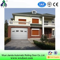 automatic sectional garage door panel size