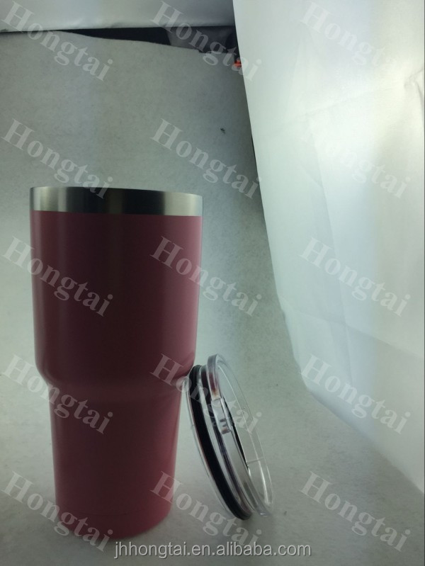 powder coating Stainless steel tea coffee cup.travel mug,camera lens cup mugs