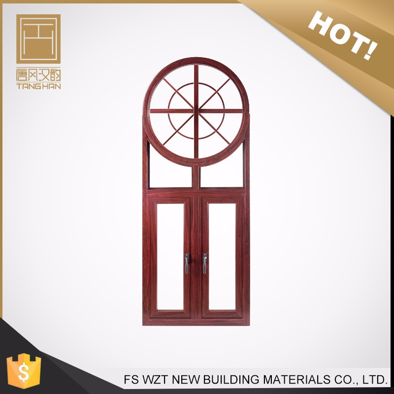 Best selling products american style skylight horizontal pivot aluminum frame round window