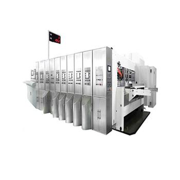 Automatic Corrugated Board Flexo Printing & Die Cutting Machine