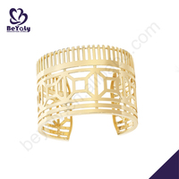 925 silver latest hollow men's solid gold bracelets