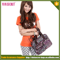 Vivisecret 2016 hottest fashionable nice cheap nylon waterproof women handbag