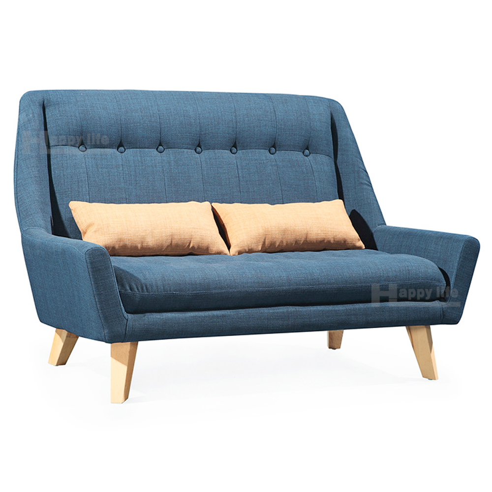 Scandinavian Furniture Fabric Living Room Sofa With Wood ...