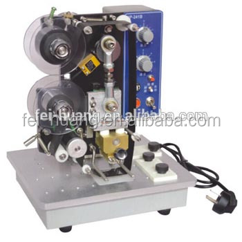 Automatic date printer plotter printer, digital ribbon printing machine, hot stamp coder