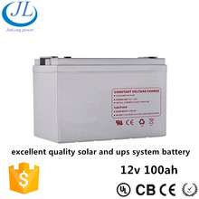 Best quality 12v 100ah battery ups, good ups and solar battery