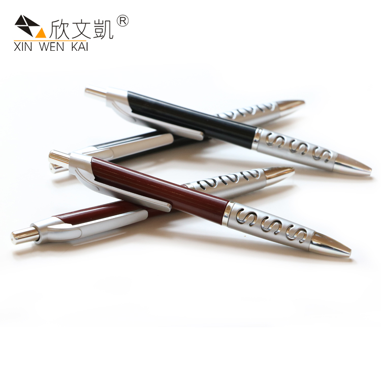 New Promotional Customized Cheap Customized Plastic Roller Ball Pen