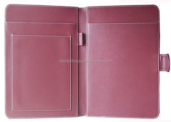 leather resume portfolios professional font b handmade b font pu