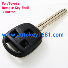 hight quality 3 Buttons Remote Fob Key Shell Case For Toyota FJ Land Cruiser Camry