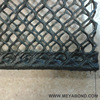 Black hexanoal mesh cage float oyster bag with hot pressing side