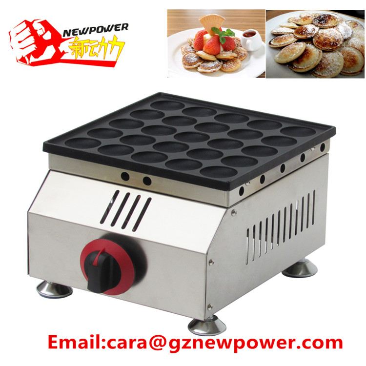 CE Approved 25 pcs commerical machine for making pancakes,mini pancakes making machine