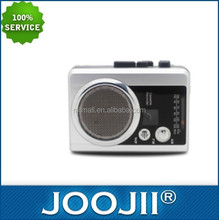 2016 FM/AM radio player with alarm clock and cassette whole price