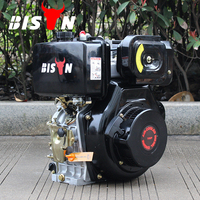 BISON(CHINA) Factory Price BS186FA Single Cylinder OHV Strong Frame Popular Model 186FA Diesel Engine For Sale