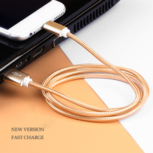 The Cheapest Naylon Braided pure color Micro USB cable for phone from China