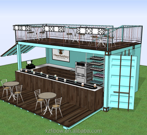 Modern Design Luxury Prefabricated Modular Shipping Container Restaurant