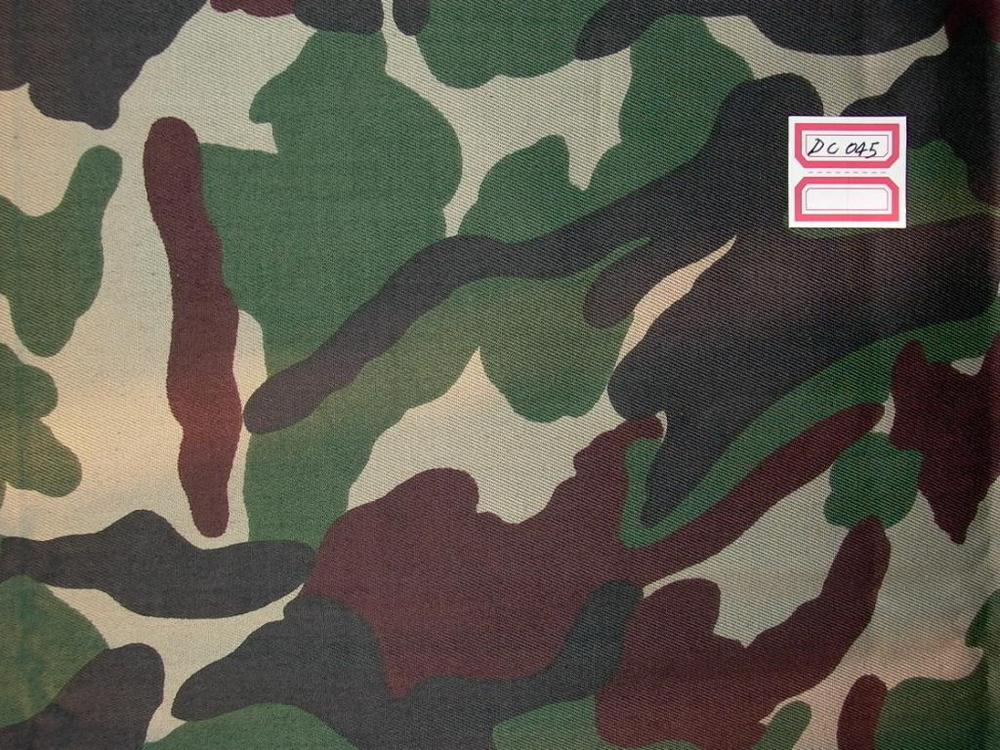 waterproof camouflage fabric