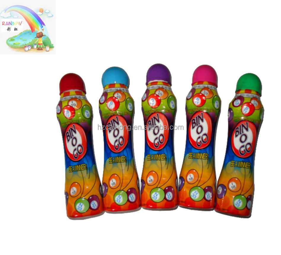 Leaning matters 3D graffiti kids creative drawing washable dot marker pen with big nib CH-2803
