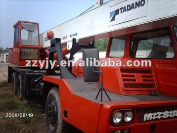 25t used japan TADANO mobile hydraulic lorry truck crane