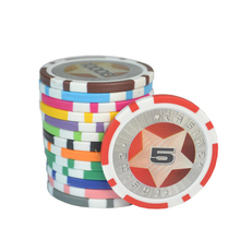 "1-1/2"" European Custom High Quality Clay Poker Chip"