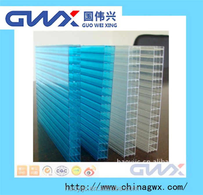uv-protection clear plastic sheets for greenhouse
