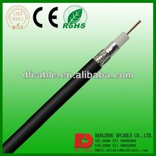 High quality 75 ohm/50 ohm copper core coaxial cable rg11 for TV