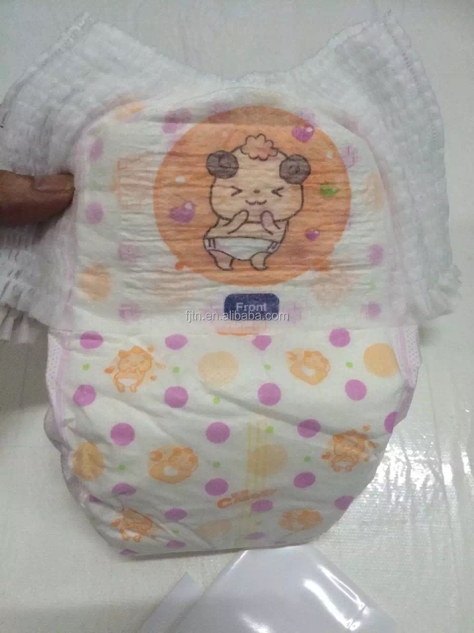 Easy wear diaper for babies disposable adult baby pants diaper made in China