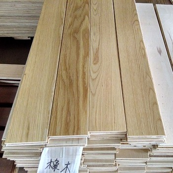Multilayer AB Grade T&G Natural Color Oak Parquet Flooring Prices