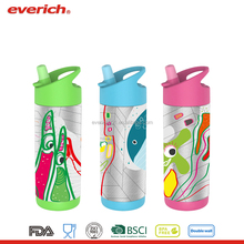 Everich New Design Stainless Steel Vacuum Insulated Kids Water Bottle