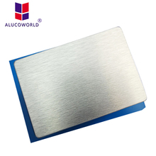 Alucoworld cheapest exterior wall aluminum cladding material acp panels