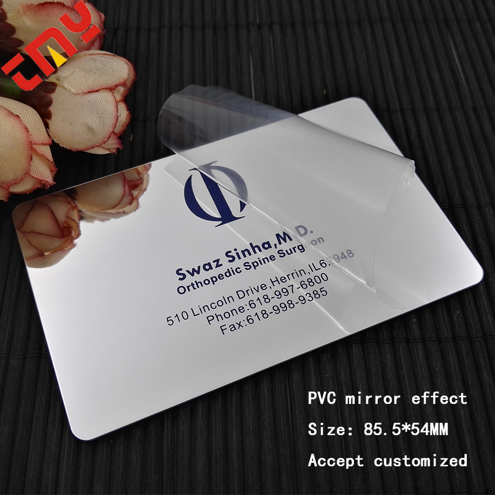 Superior Quality Customized Design Plastic Pvc Mirror Business Cards ...