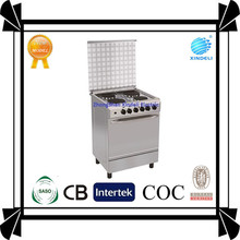 Household Electric appliance best quality gas cooking range with electric grill 24inch 24'' four burner manufaturer